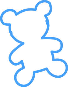 Bear Outline Clip Art
