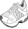 Running Shoe Clip Art