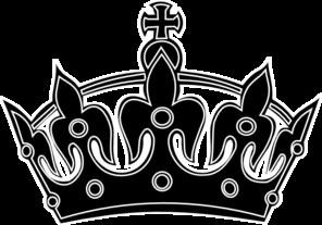 black keep calm crown border 3 clip art at clkercom