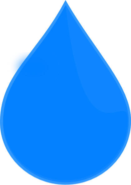 Blue Water Drop Clip Art at Clker.com - vector clip art ...
