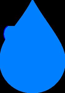 Blue Water Drop Clip Art at Clker.com - vector clip art online ...