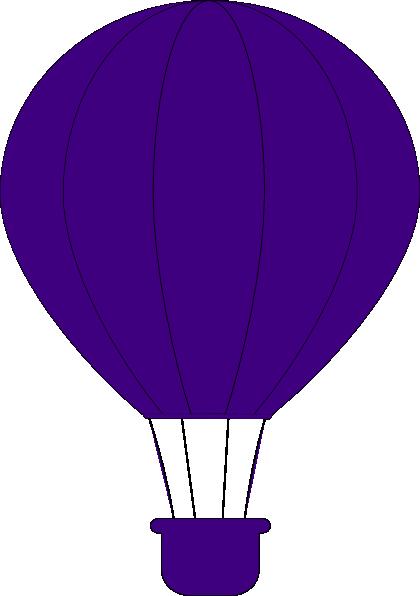 Purple Air Balloon Clip Art at Clker.com - vector clip art ...