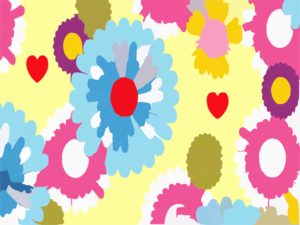 Cartoon Flowers Wallpaper Vyvxo Clip Art
