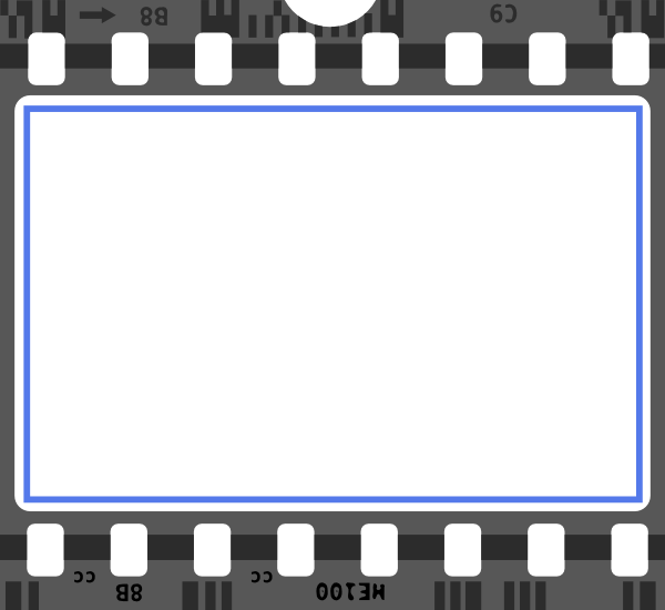 movie reel wallpaper border - photo #9