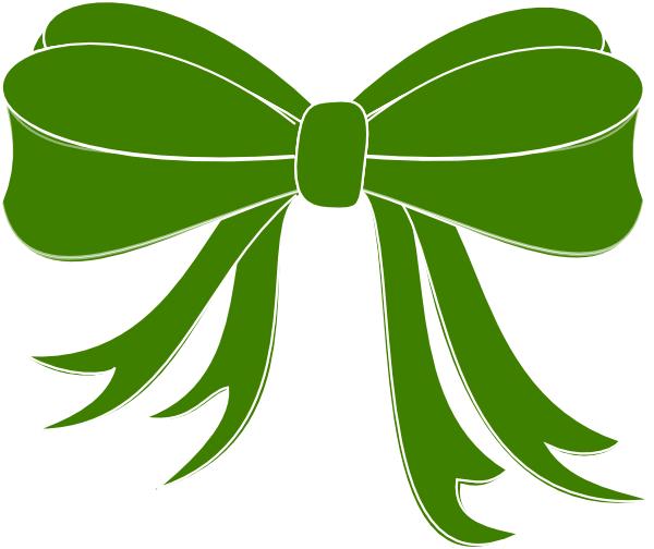 free clip art green ribbon - photo #11