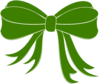 Green Bow Ribbon Clip Art