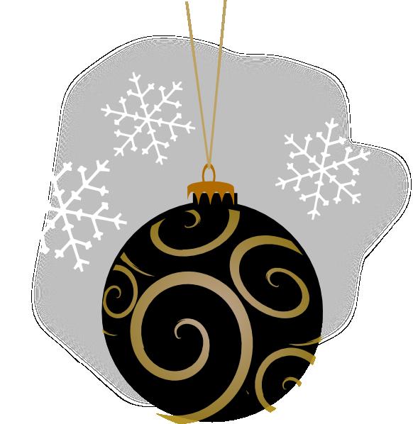 Black decorative ornament clip art at clker vector