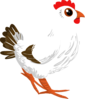 Inhabitants Npc Chicken  Clip Art