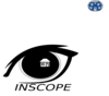 Inscope Eye With House Clip Art