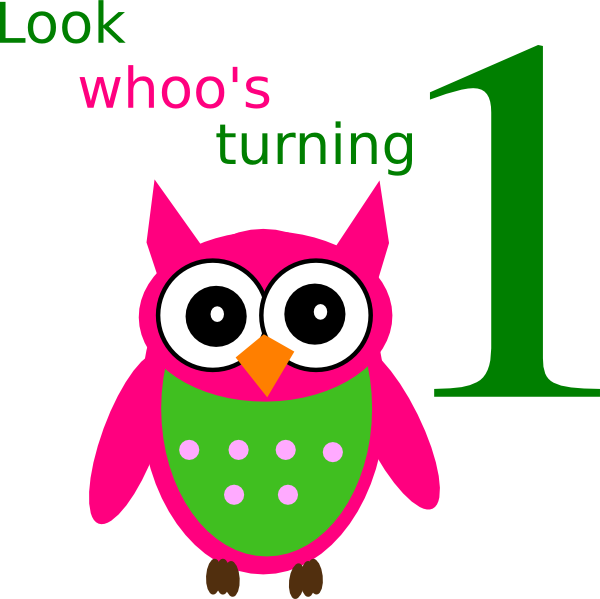 Birthday Owl Clip Art at Clker.com - vector clip art ...