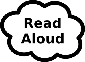 Read Aloud Clip Art