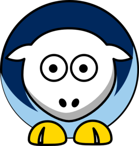 Sheep Tampa Bay Rays Colors Clip Art