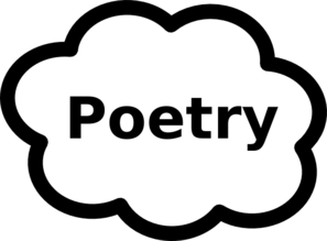 Poetry Book Sign Clip Art