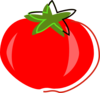Red Tomato Illustration Clip Art