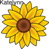 Katelynnsunflower Clip Art