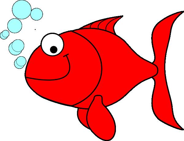 Red Goldfish Clip Art at Clker.com - vector clip art ...