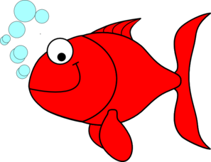 Red Goldfish Clip Art