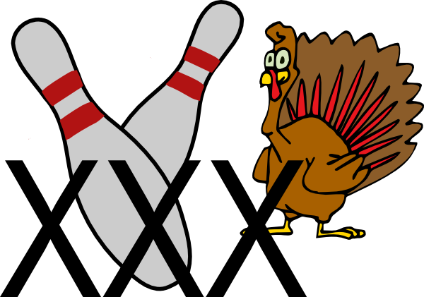 Bowling Turkey Clip Art at Clker.com - vector clip art online, royalty ...