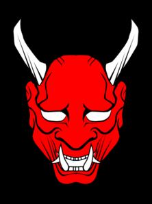 red devil face clip art at clker com vector clip art online rh clker com devil clipart free download devil clip art images for free