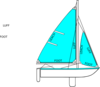 Sides Fo The Sail Clip Art