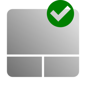Touchpad Enable Icon Clip Art