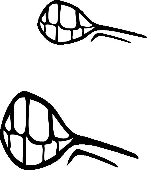 angry mouth clip art at clker com vector clip art online royalty rh clker com cartoon lips clipart