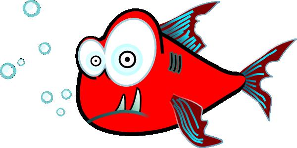 red fish clip art at clker com vector clip art online royalty rh clker com red fish tail clip art Green Fish Clip Art