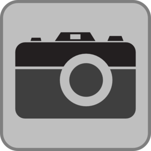 Grey Camera Clip Art