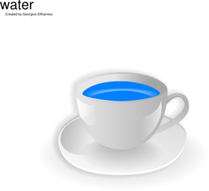 Cup Of Water Clip Art