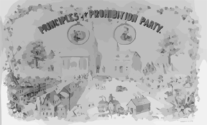 Principles Of The Prohibition Party Clip Art