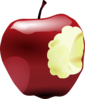 Apple Bite Clip Art