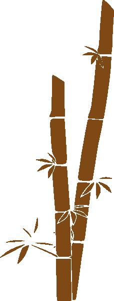 Brown Bamboo Clip Art ...