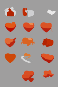 Ivalentine A Free Vector Iconset+preview Clip Art