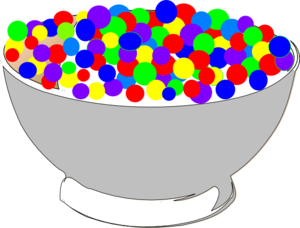 bowl of colorful cereal clip art at clker com vector clip art rh clker com  bowl of cereal clipart