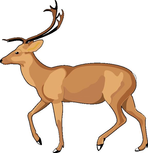 antelope clip art at clker com vector clip art online Elephant Clip Art Gorilla Clip Art