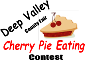 Cherry Pie Contest Clip Art