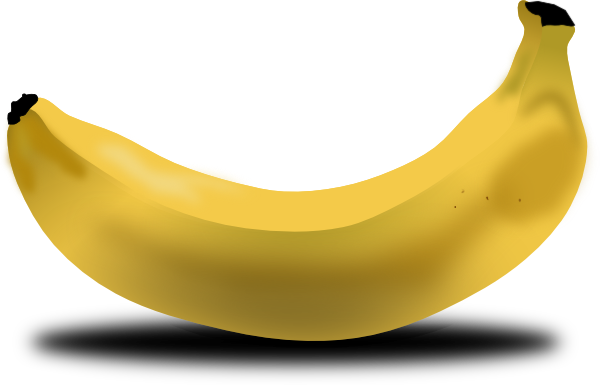 Banana Clip Art At Clker Com Vector Clip Art Online