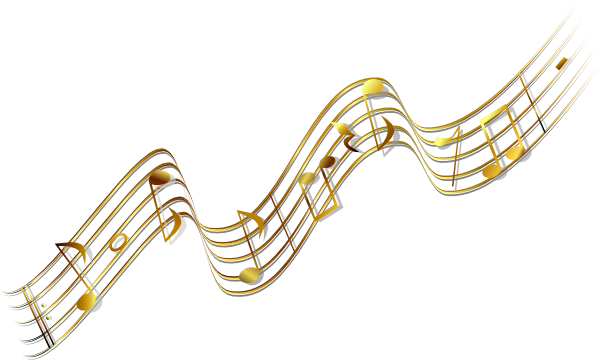 gold music banner clip art at clker com vector clip art french horn clipart christmas french horn clipart