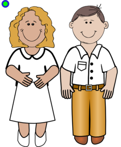 man and woman clip art at clker com vector clip art online rh clker com men and women clipart old man and woman clipart