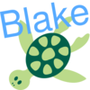 Turtle With Name Clip Art