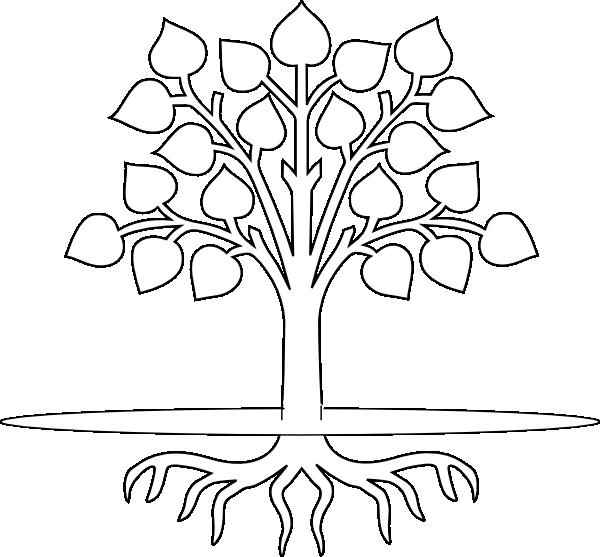 Tree With Roots Clip Art at Clker.com - vector clip art ...