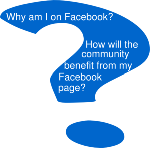 Facebook Page Questions Clip Art