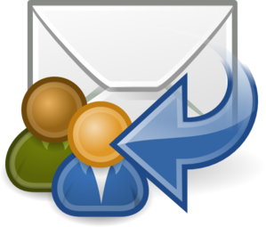 Mail Reply All Clip Art