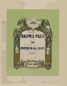 Doctor Ralph S Pills Clip Art