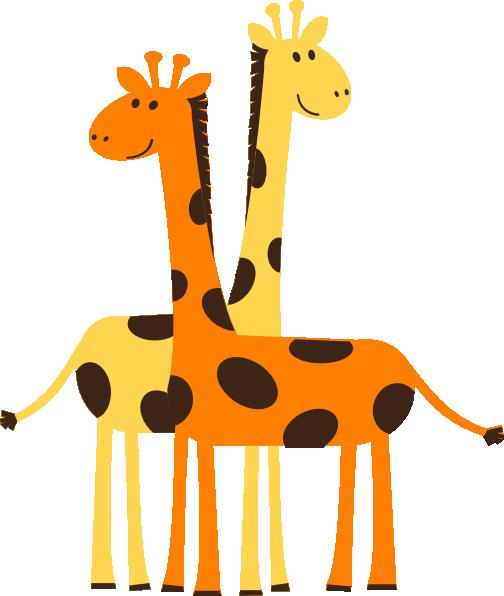 giraffes clip art at clker com vector clip art online royalty rh clker com