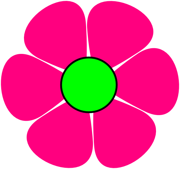 Pink Flower Cartoon Pictures