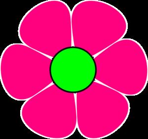 pink flower 2 clip art at clker com vector clip art online rh clker com pink flower clipart border pink flower clip art free