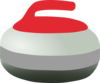 Curling Rock Clip Art