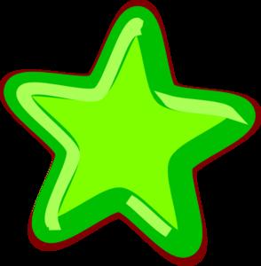 Green Star Clip Art at Clker com - vector clip art online  royalty