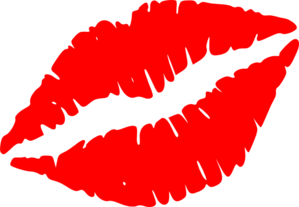 Red Lips Vector Clip Art